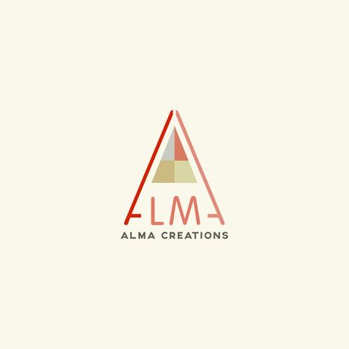 Logo for ALMA Creations