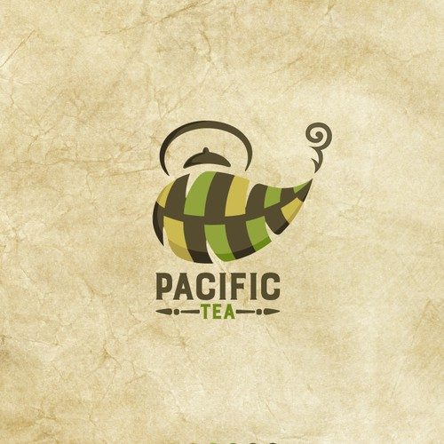 Create an inspiring logo for a tropical tea packaging company!