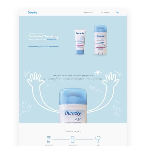 Duradry Website Design