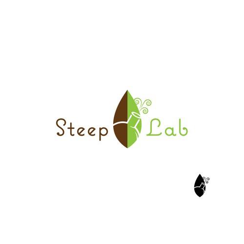 Logo proposal for premium loose leaf tea website