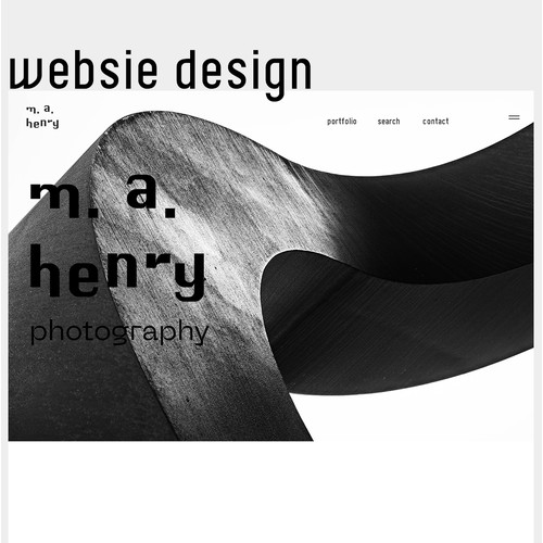 Photography Website UX/UI Design