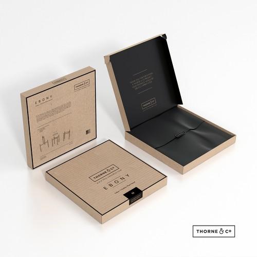 Design a box for designer homewares products