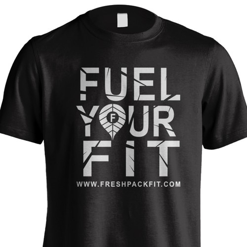 T-shirt Design for Fuel Your Fit