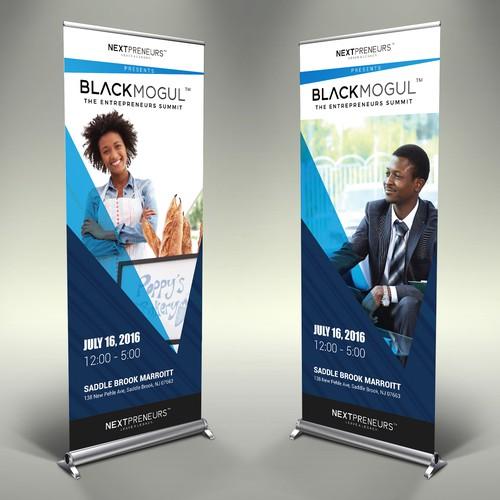 Signage Design for Blackmogul