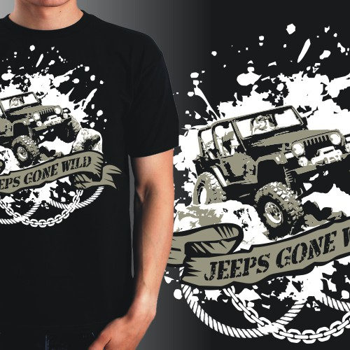 Create the first (of many) jeep enthusiast tshirt