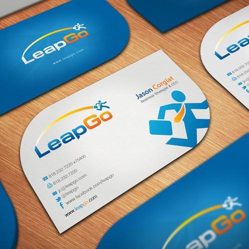 LeapGo Needs an Awesome New Business Card
