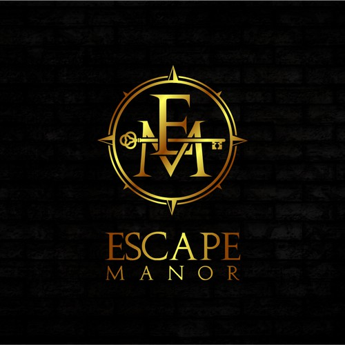 Logo design:  Escape Manor