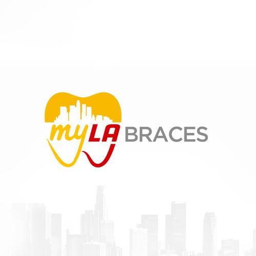 MyLA Braces logo