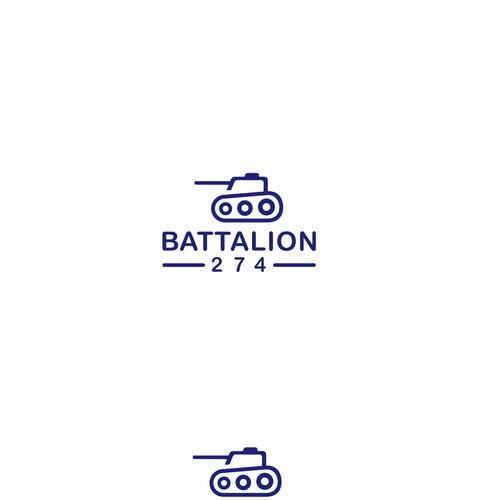 Line art tank