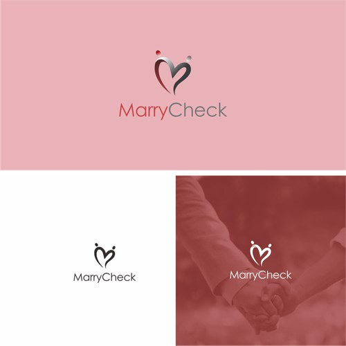 Logo for marriage themes