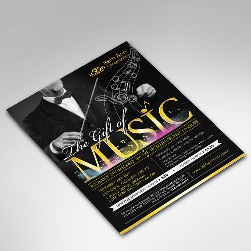 Beth Zion Concert Flyer