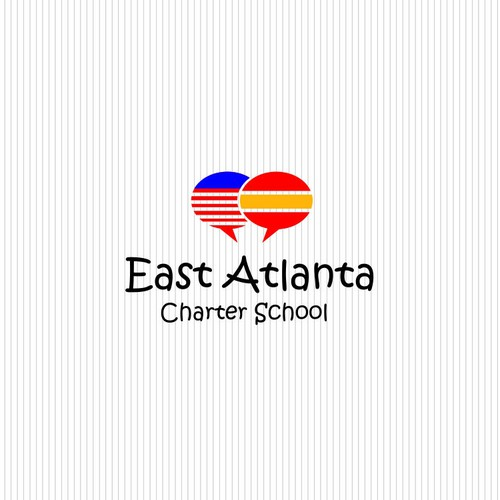Make a logo for a Spanish-language immersion elementary school in Atlanta