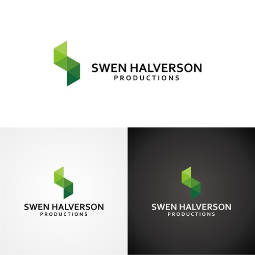 logo design for swen halverson productions