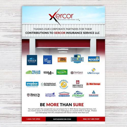 Winner Flyer for Insurance Services