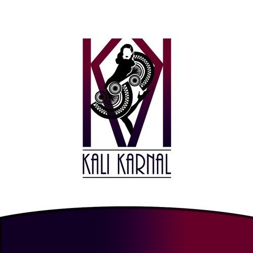 Kali Karnal - Logo for Burlesque/Vintage Clothing Boutique