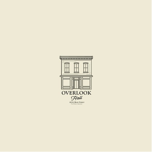 Overlook Hall Logo Design
