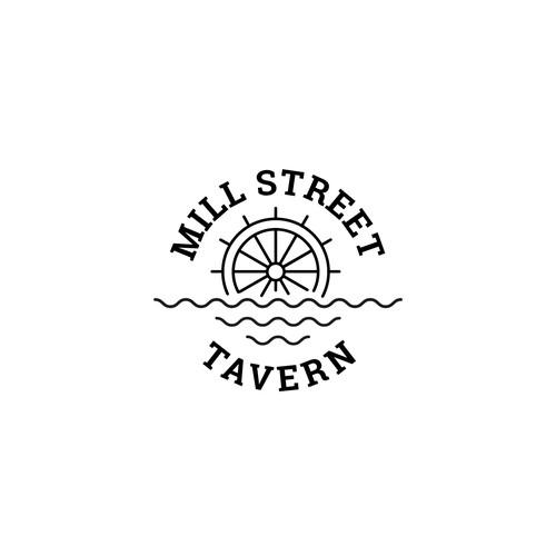 Logodesign for a modern pub