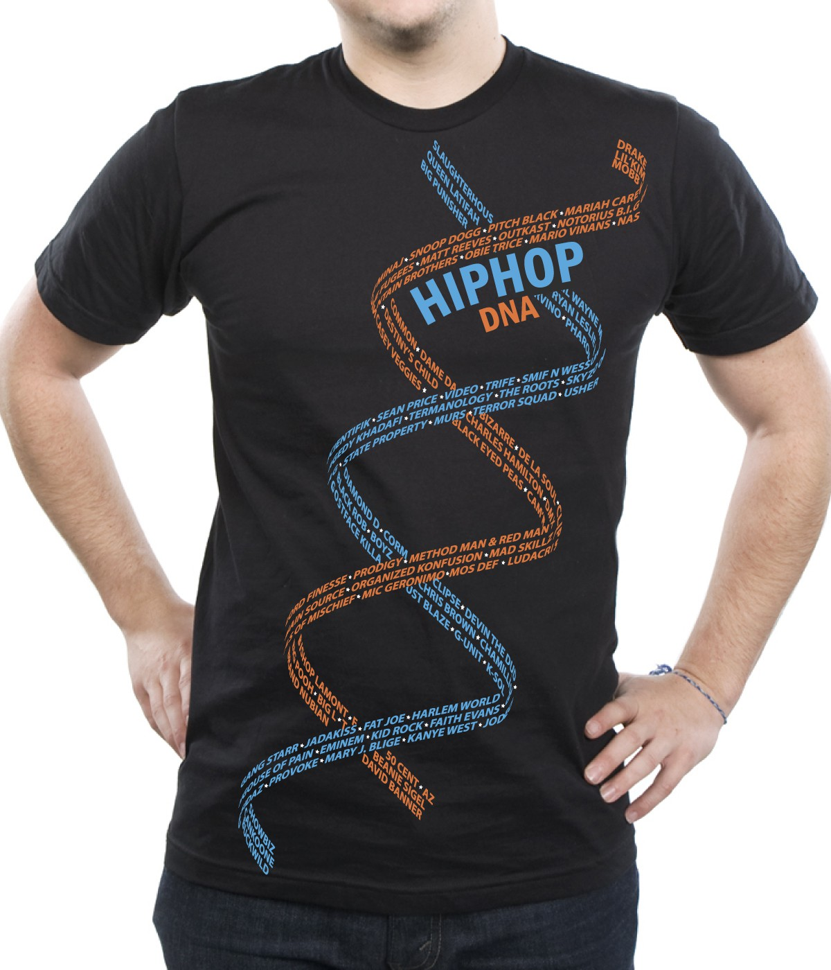 Help HiphopDNA with a new t-shirt design