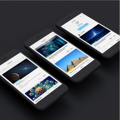 Science video/content app