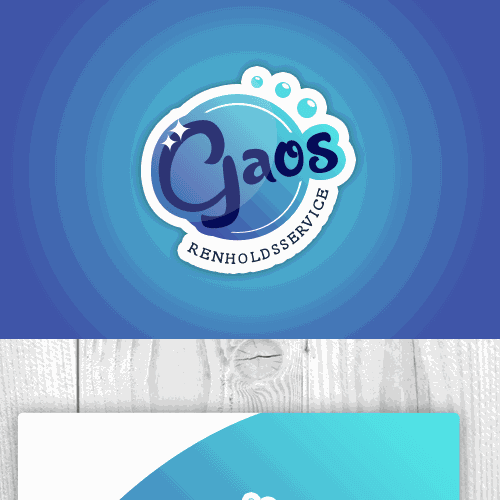 clean service logo