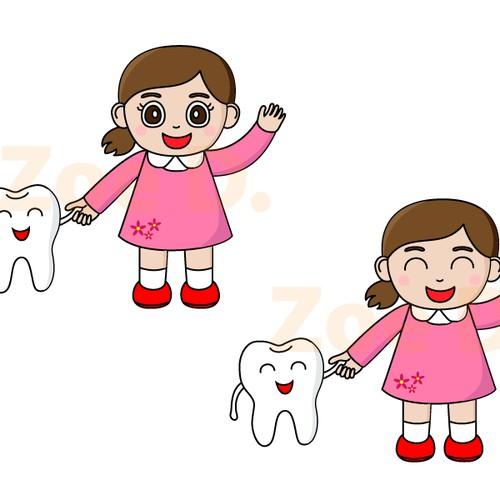 Character design for dental office