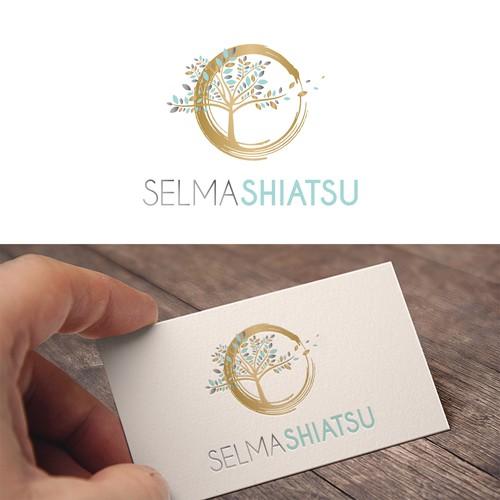 Logo concept for a shiatsu practice