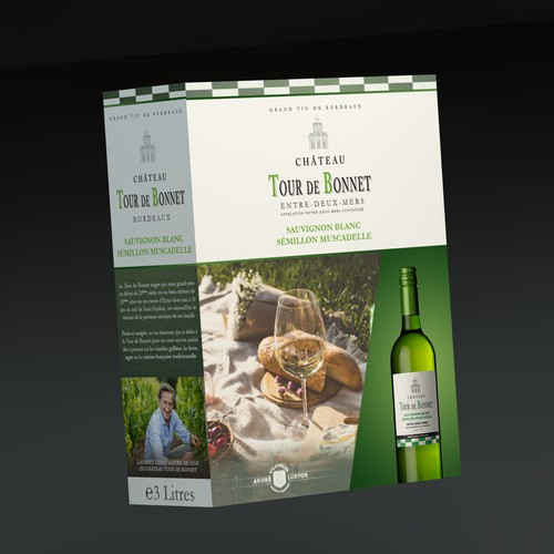 Package design for a wine-box.