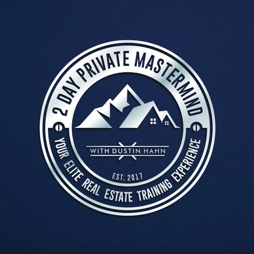 Modern Real Estate Training Emblem