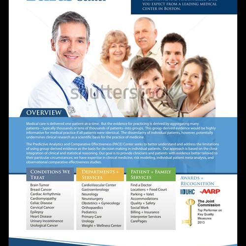 Flyer forTufts Medical Center