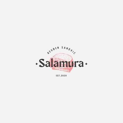 Restaurant sandwich logo