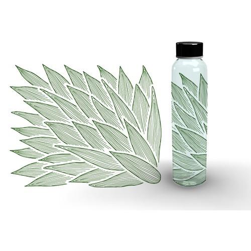 Design for glass bottles
