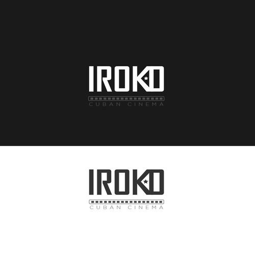 Logo concept for Cuba cinema platform