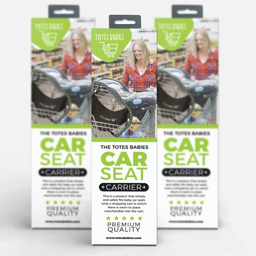 Car Seat Holder Packaging design