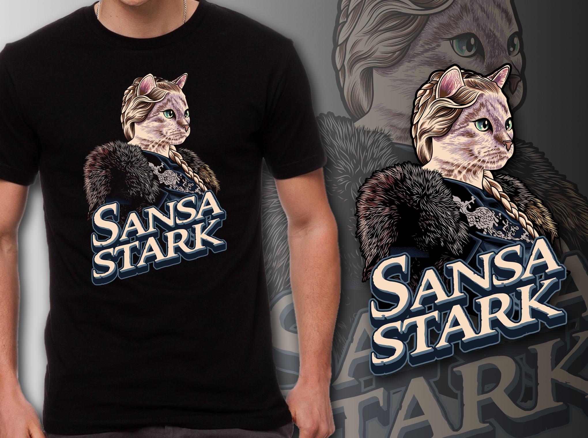 GoT Cat T-Shirt #3