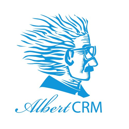 Logo concept for AlbertCRM