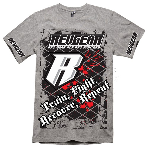 Revgear MMA needs new T shirt designs