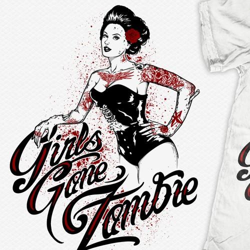 Help Girls Gone Zombie with a new logo
