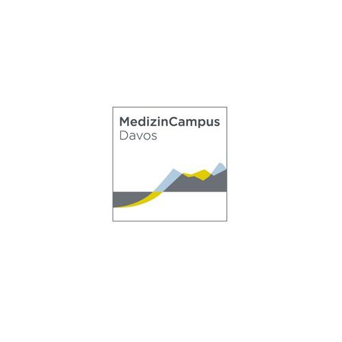 Logokonzept für einen Medizincampus in der Schweiz