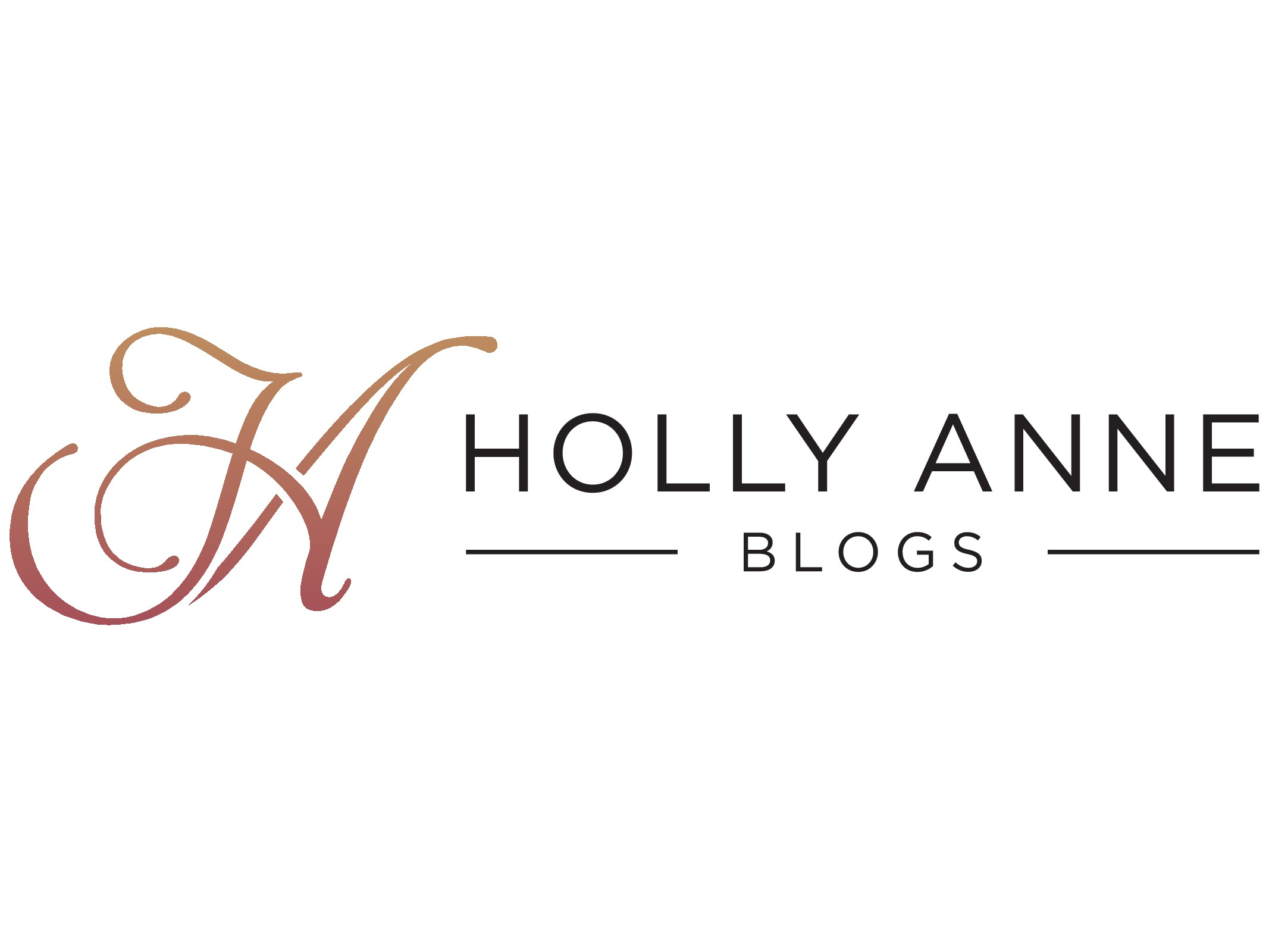 Looking for a simple yet sophisticated logo for a makeup / lifestyle blog