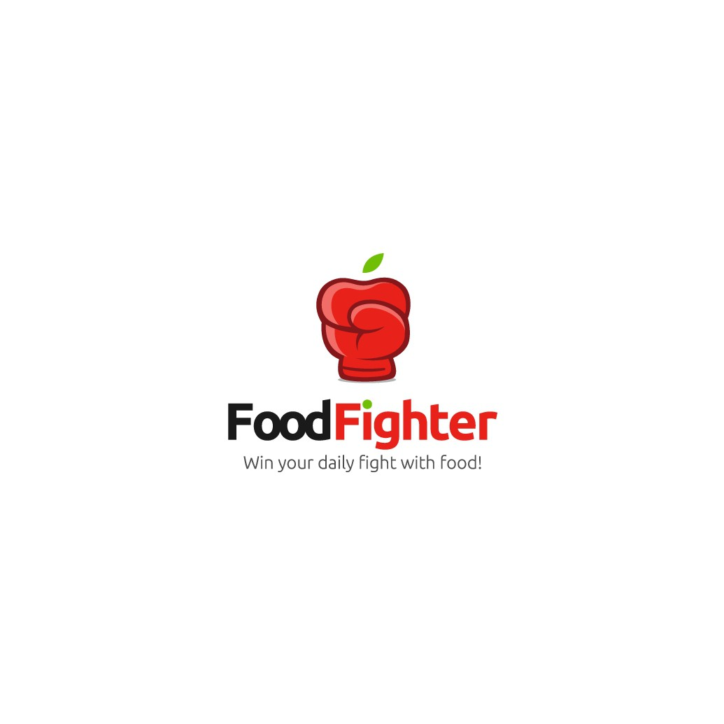 Design a logo for FoodFighter - a new way to lose weight and keep it off