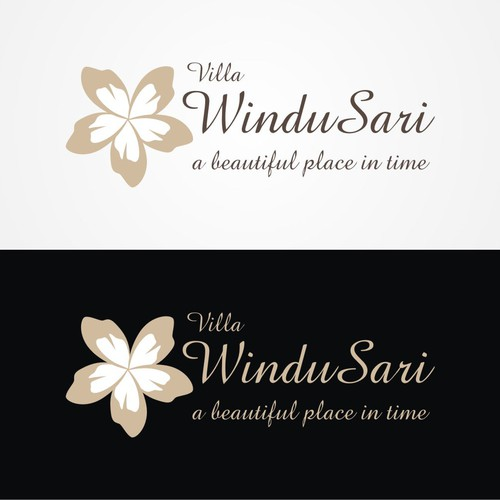 Upgade the logo for a private Bali Villa