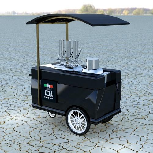 Réalisation d'un chariot à churros en 3D pour Di Antonio Churros