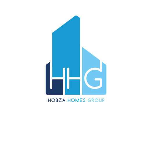 modern, professional logo for a top real estate group