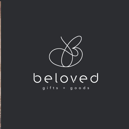 Logo for company specializing unique goods, personal gifts, and timeless decor