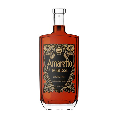 Label for almond amaretto