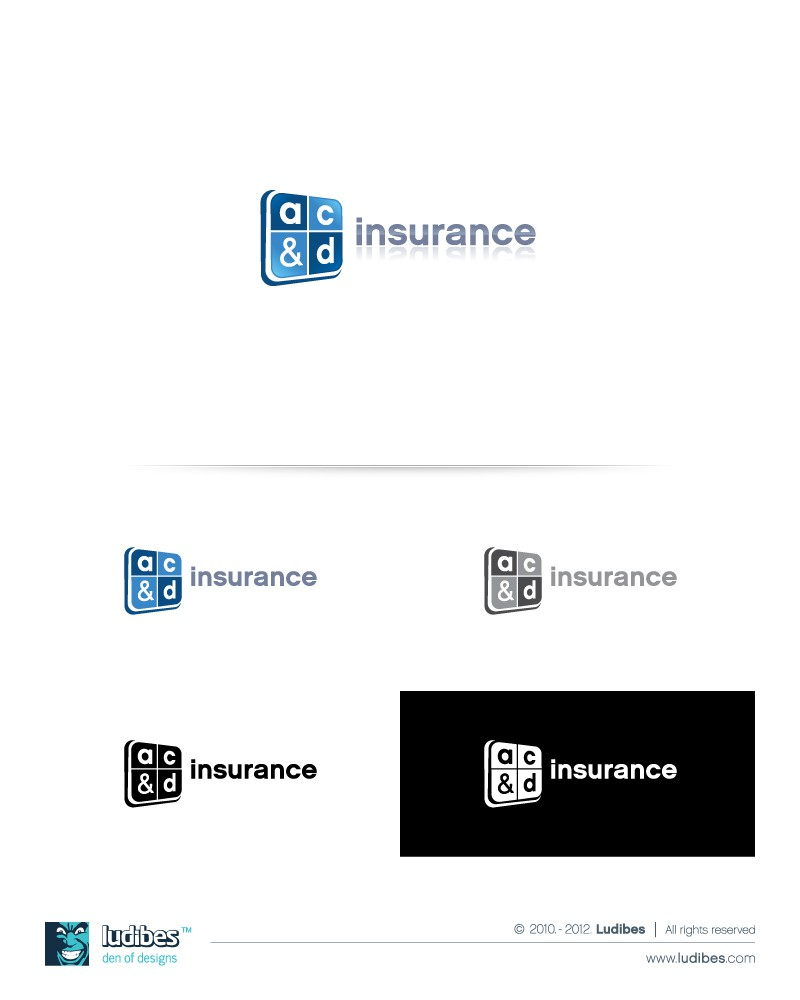 Create the next logo for a c & d Insurance