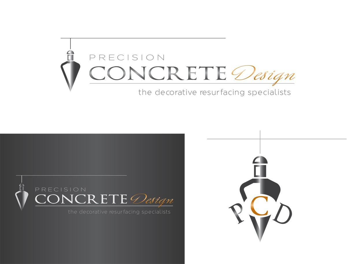 Precision Concrete Design needs a new logo