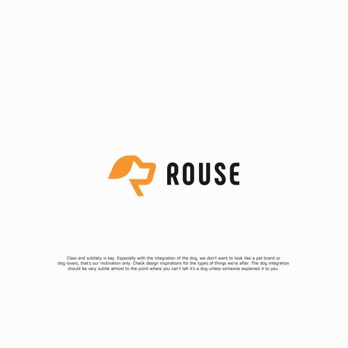 bold animal logo concept