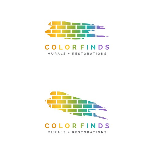 Mural and restorations Logo