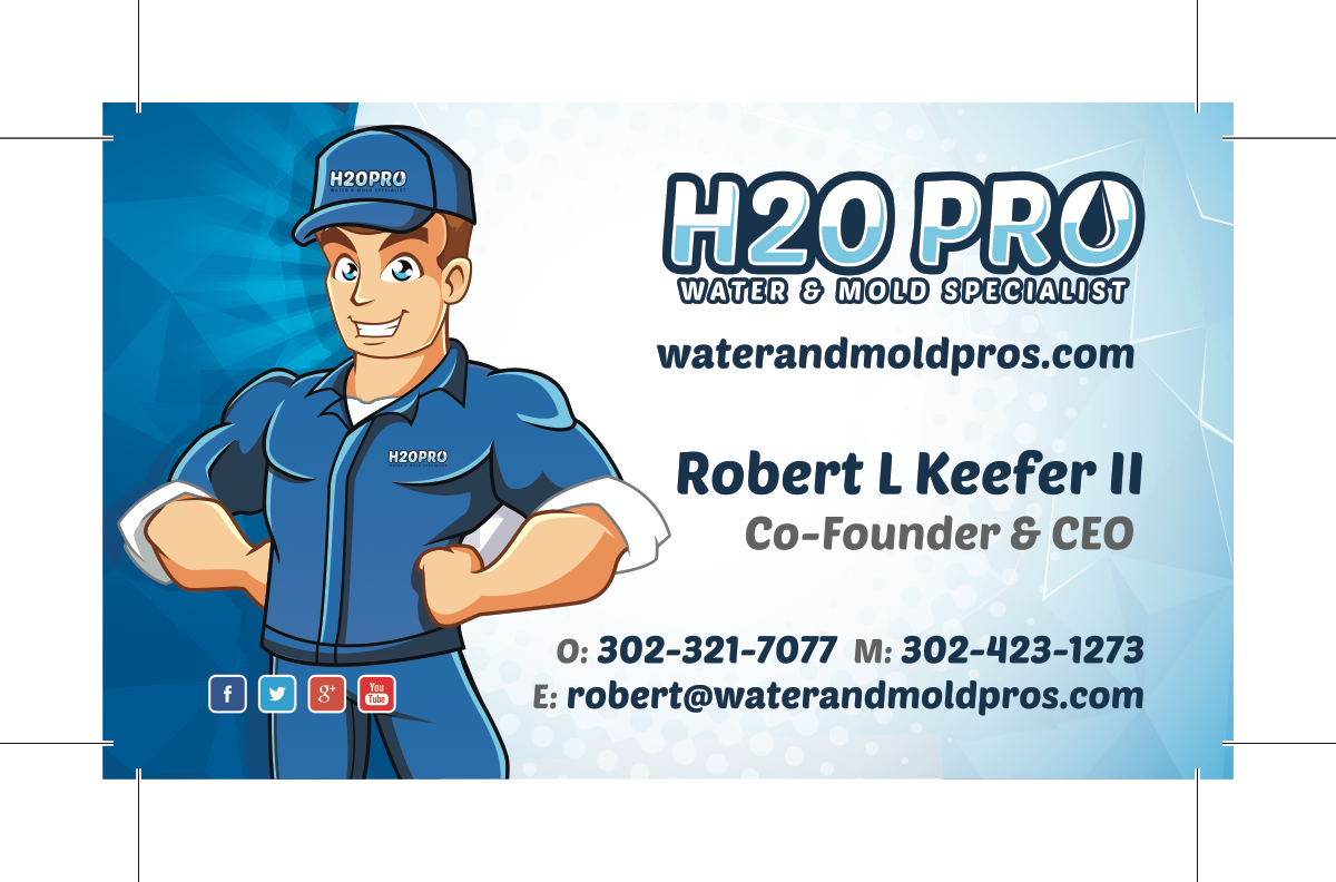 H2O PRO - Business Cards